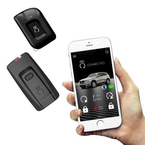 CarAlarm com1 5 Mile Range SmartPhone Control